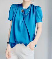 Women's T-Shirt JW5118 Fashion Women Tops & Tees 2021 Runway Luxury European Design Party Style T-Shirts Clothing