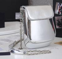 Блестящие сумки на плечо блестящие мосушки женские мобильные сумки кошелек из натуральной кожи кошелек коричневый буква цветок сумки леди Tote три предмета