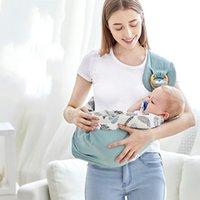 Bébé porte une pellicule de coton porte-nœuds de sécurité pour le nouveau-né Kerchief Baby porteur confortable bébé sac kangourou 890 v2