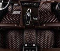 BMW x1 x2 x3 x4 x5 x6 x7 E70 E83 E84 F15 F25 카펫 전화 포켓을위한 5 좌석 자동차 바닥 매트