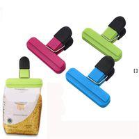 Plastic Food Sealing Bag clip Chips Borse Sigillante Guarnizione Grip per Snack Accessori da cucina Caffè Caffè HHE6695