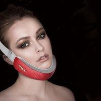 Podbródek V-Line Up Podnośnik Maszyna Maszyna Masażysta Czerwony Niebieski LED Foton Therapy Urządzenie do podnoszenia twarzy Face Wyszukiwanie Wibracja V-Face Care