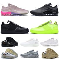 Nike Air Max Airmax Airforce One 1 Vapormax Off White 90 97 Dunk Femmes Hommes Luxurys Designers Chaussures Dunks Baskets Baskets Mocassins