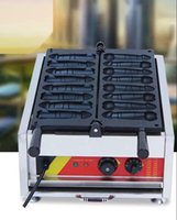 2021 Gıda İşleme Ticari Penis Waffle Makineleri Tayvan Aperatif Ekipmanları Sopa Köpek Makinesi Elektrik