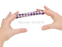 Free ship 24pc cheap Chinese finger trap magic trick joke toys party favors gifts loot bag fillers give away dsf0430