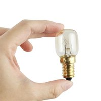 Лампочки 6 шт. T25 E14 25W Микроволновая печь Светальная лампочка Высокотемпературные устойчивые 300 Цельсия Небольшой винт Светодиодная кукуруза
