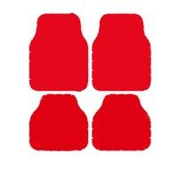 Классические Цветы Автомобильные Ноги Ковры Старинные буквы Универсальные Нескользящие Автомобили Ковровые Ковсы Мода Письмо Напечатанные Автомобильные Украшения Маты 4 шт.
