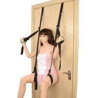 Adult Sex Swing Door Stand Women Fetish Bdsm Bondage Kit Gear Restraint Set EroticToy Shop Sex Furniture For Couple Sex Products Y0406