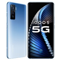 "Original vivo iqoo 5 5g Handy 12 GB RAM 128 GB 256 GB ROM Snapdragon 865 Octa Core Android 6.56 ""50mp NFC Wake Face ID Smart Handy"