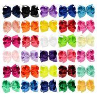 40colors اختيار مجانا 6 بوصة الطفل القوس كبيرة الشعر الشعر الرضع بنات الشعر الانحناء مع المشابك 15 سنتيمتر * 12 سنتيمتر 310 U2