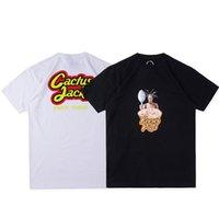 2021 여름 편지 인쇄 T 셔츠 남성 여성 고품질 검은 흰색 오렌지 힙합 티셔츠 크기 S-XL