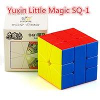 Yuxin Zhisheng Little Magic SQ1 Magnético Magic Cube Yuxin SQ-1 Speed Cube Cuadrado-1 3x3 Cubo Magico Square1 Puzzle Cube