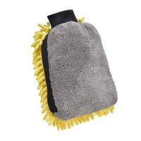 Autos sauber Handschuh Coral Mittang Weiche Anti-Kratzer für Autowäsche Multifunktions Dicke Reinigung Handschuhe Auto Wachs Detailing Pinsel Farbe Zufällig