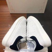 2021 Kalite Alexander McQueen Erkek Kadın Ayakkabı Tasarımcısı Moda Lüks Espadrille Düz Flats Boy Sneaker Platform Sepetleri Rahat 35-46