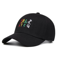2021 spring summer ATCQ color letter hip hop baseball cap for men fashion wild couple hat outdoor casual women hat
