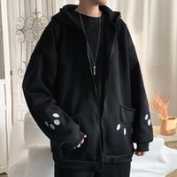 Ly Panda Hooded Jacket Casual Couple Outfit For Men Women Durable Winter Autumn Women's Hoodies & Sweatshirts