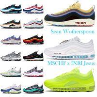 2021mens Chaussures de femme 97 Hommes Femmes Sneakers Sport en plein air Sport Casual Soin Résistance à lacets à lacets