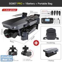 SG907 PRO 4K-DH Dual Camera 5G FPV DRONE, 50x Zoom, 2-Achsen-Gimbal-Anti-Shake, bürstenloser Motor, GPS-Lichtstromposition, Smart Follow, 3-3