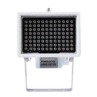 Flash Heads DC 12V 96 LED Night Vision IR Infrared Illuminator Light Lamp For CCTV Camera 360 Degree Paranormal Ghost Hunting Equipment