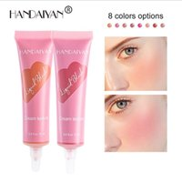 Soft tube Liquid blush Face Makeup moisturizing long lasting natural matte shimmer nude make-up blusher cream top quality