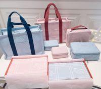 Hohe Qualität Baby Windel Taschen Mami Mutterschaft Handtasche Sets Kinder Flaschenhalter Mutter Frauen Umhängetasche für Kinderwagen