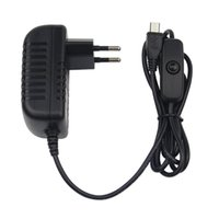 Smart Home Control 5V 3A Netzteil Ladegerät AC Adapter Micro USB-Kabel mit EIN / AUS-Schalter für Raspberry Pi 3 Pro Modell B B + Plus
