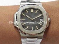 TOP PPF V3 Luxury Nautilus Mens Watch Watch Extra Thine 8,6 мм Swiss CAL.32SC Автоматический 28800VPH Sapphire Crystal Crystal Steel Watch