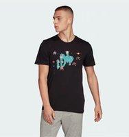 Мужская футболка для женщин Летняя Короткая мода Повседневная Бренд Письмо Вышивка Высококачественная Хлопок Дизайнерская Одежда Черный Белый