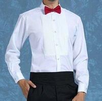 고품질 신랑 셔츠 최고의 남자 셔츠 긴 소매 흰색 셔츠 신랑 액세서리