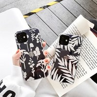 Wire-drawn electroplating phone cases with double-sided film covering For iPhone 12 11 pro promax X XS Max 7 8 Plus