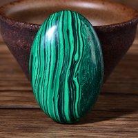 Yeşil Malakit Palmiye Taş Kuvars Kristal Masaj Spa Gevşeme Meditasyon
