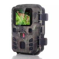 Drahtlose Mini-Wanderkamera 20MP 1080P Jagd Outdoor Wildlife-Kameras Scouting Überwachung Nachtsicht-Fotofallen