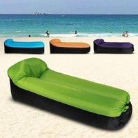 Sacs de couchage Beach Lounge Chair de camping Pliage rapide Sac de camping imperméable Canapé gonflable Sofa paresseux