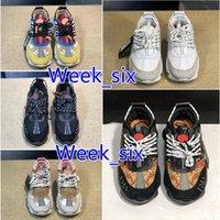 Clásicos Cómodos Zapatos casuales Lienzo Plataforma de lienzo Papá viejo Zapatillas de cuero para hombres Mujeres de lujo Reacción de cadena para hombre 1.0 Desinverses Verano Zapato para caminar al aire libre