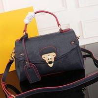 Роскошные дизайнеры сумки кожаные сумки сумки вечерняя сумка печатает письмо украшения мессенджера мешок сумки ретро стиль дизайн
