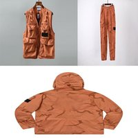 TopStoney 2020SS Жилет, Куртка, Брюки, Весна, Летние и Осень Мэт Тенденция Мода Трехкомпонентный костюм
