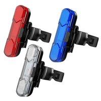Велосипедные огни USB зарядки светодиод предупреждение ночной велосипед задний свет на велосипедную стойку водонепроницаемый хвост для