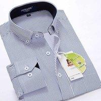 Shan Bao Classic Business Business Hommes occasionnel Brand Marque à manches longues Gentleman élégant mariage de mariage chemise