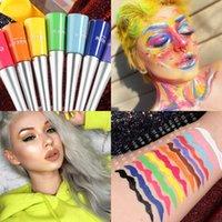17 couleurs mate liquide eye-liner étanche doublure cylindre maquillage maquillage delineador de ojos kit