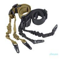 Sling tactique tactique de corde à double point de nylon multifonctionnel avec une densité élevée