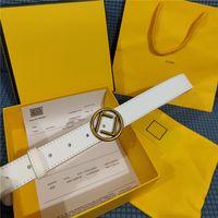 Mode Echtes Leder Männer Designer Gürtel für Frauen Hohe Qualität F Schnalle Womens Luxus Gürtel Bund Cintura Ceinture 3.0 Breite Gürtel