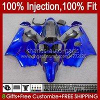 OEM Injection mold Bodywork For KAWASAKI NINJA ZX1200 C ZX1200C ZX 12 R 1200 CC 2000 2001 Body 2No.87 ZX 1200 12R 1200CC ZX-12R 00-01 ZX12R 00 01 Fairing Kit Factory blue blk