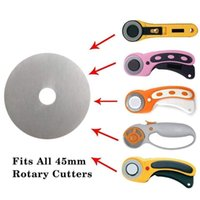 Hand & Power Tool Accessories 10pcs set 45mm Rotary Cutter Set Blades Fabric Circular Quilting Cutting Patchwork Leathercraft Sewing Leather