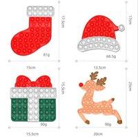 Stock fidget juguetes halloween colorido caja de regalo hermit cangrejo navidad alk sombrero calcetines empuje burbuja niños regalos regalo controlador inquietilos juguete dedo