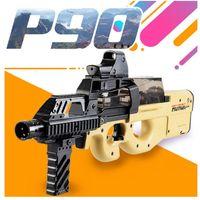 P90 لعبة بندقية الاعتداء قناص سلاح المياه رصاصة نموذج الأنشطة في الهواء الطلق cs لعبة النشارات الكهربائية الألوان مسدس لعب للأطفال
