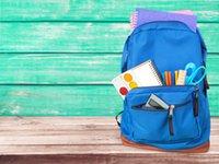 Torna a scuola fotographia in vinile fondali blu bordo di legno borsa da studio Boots sfondi per bambini Studio Puntelli