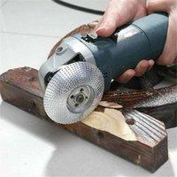 샌더스 1PC 나무 그라인딩 휠 각도 분쇄기 디스크 텅스텐 카바이드 코팅 샌딩 샌딩