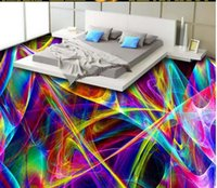 Custom Po Floor Wallpaper 3D Stereoscopic Colorful Abstract ...