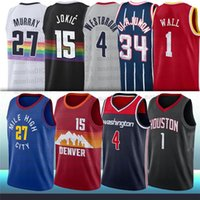 15 Nikola 27 Jamal Jokic Murray 1 John Russell Parede 4 Westbrook City Men NCAA Basketball Jerseys
