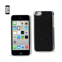 Reiko iPhone SE / 5S / 5 버블 메탈 도금 TPU 케이스 화이트 / 블루 / 블랙 / 레드